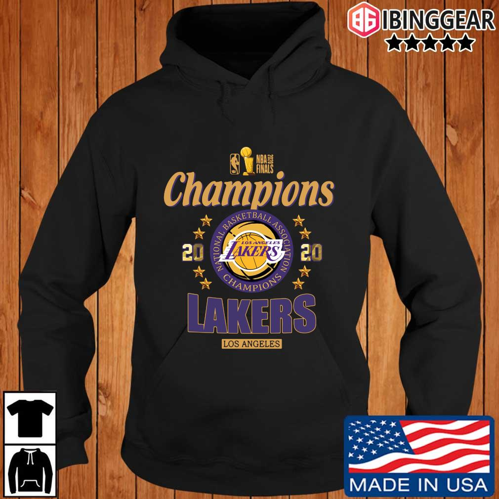 NBA 2020 finals Champions Los Angeles Lakers basketball s Ibinggear hoodie den
