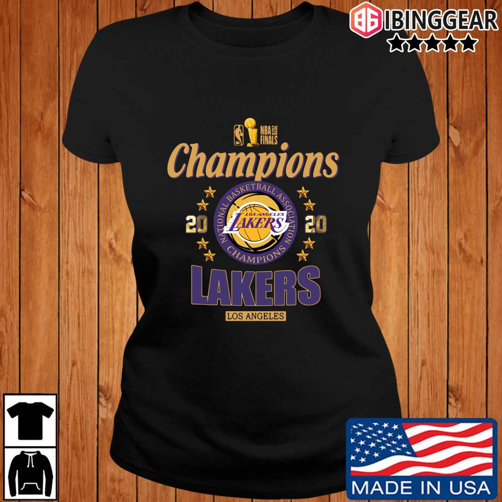 NBA 2020 finals Champions Los Angeles Lakers basketball s Ibinggear ladies den