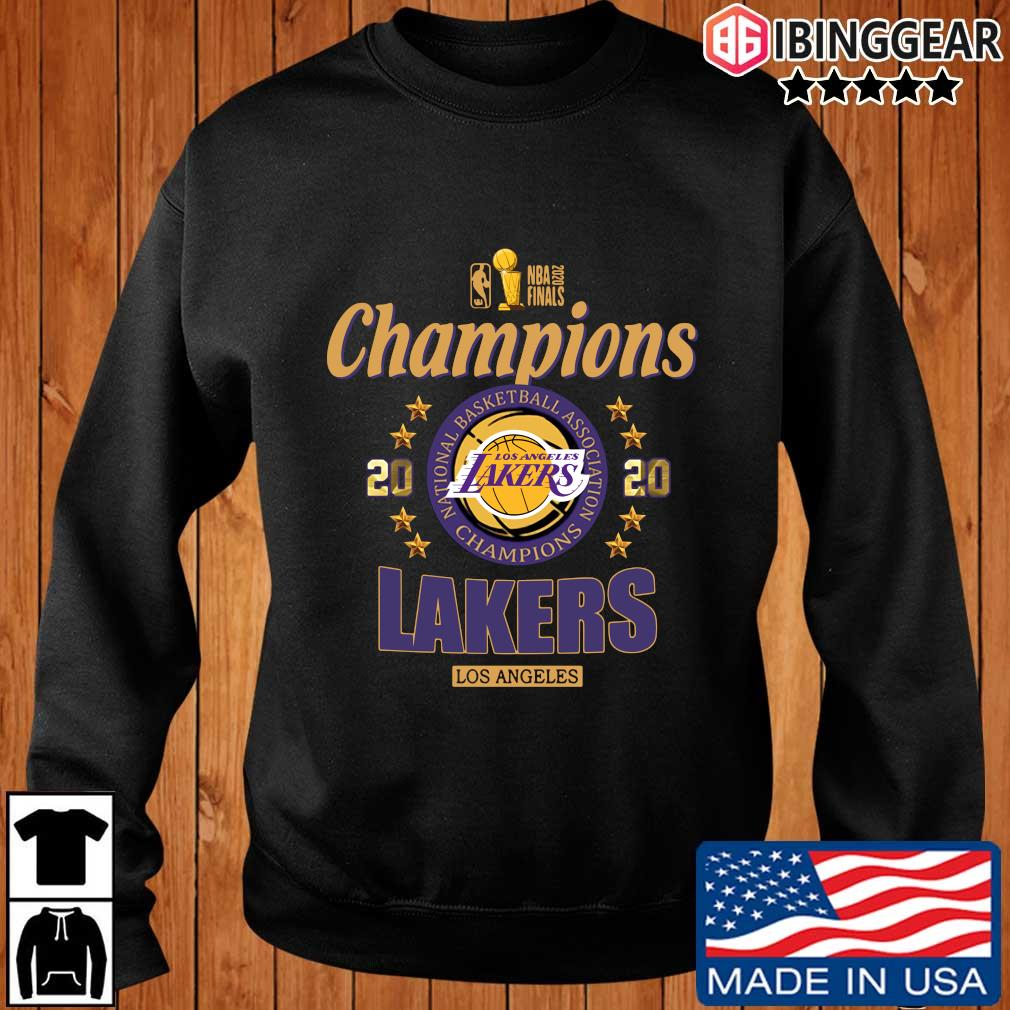 NBA 2020 finals Champions Los Angeles Lakers basketball s Ibinggear sweater den