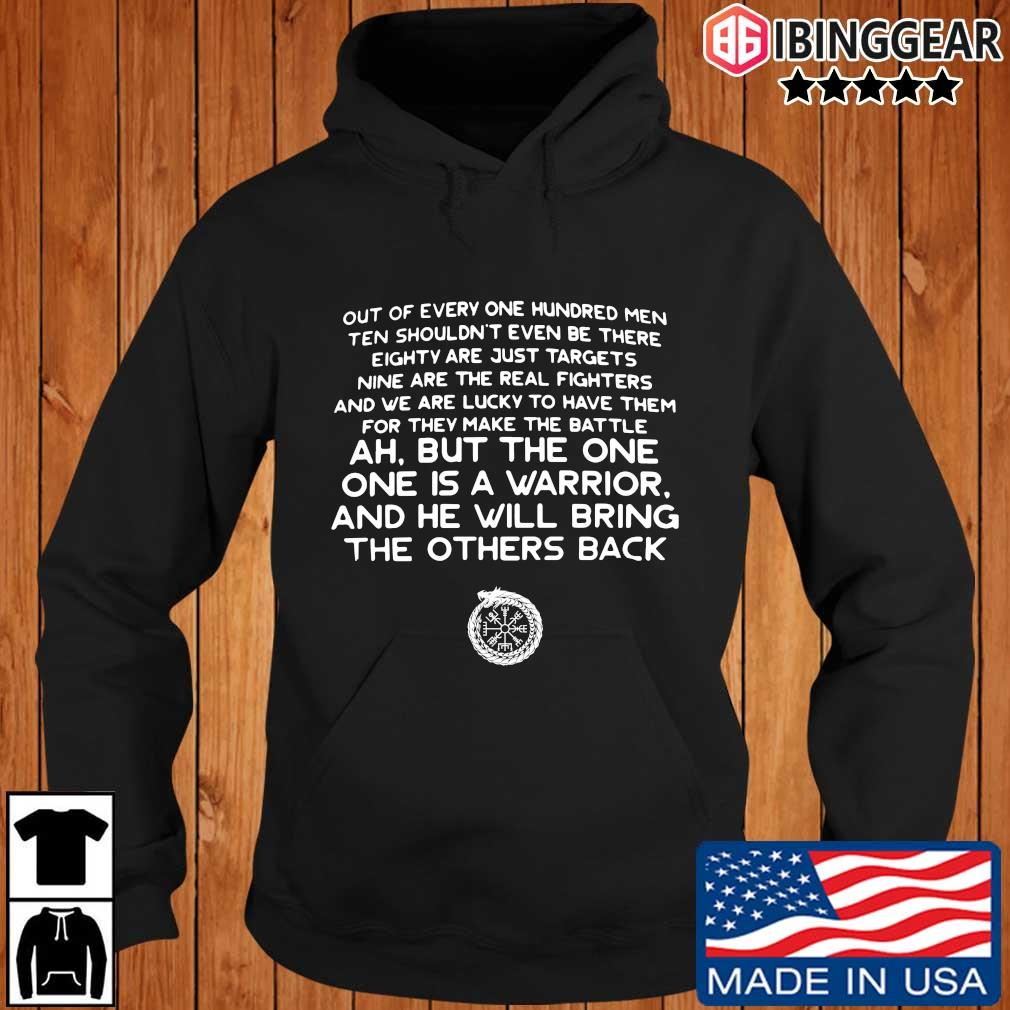 Out of every one hundred men ten shouldn't even be there s Ibinggear hoodie den