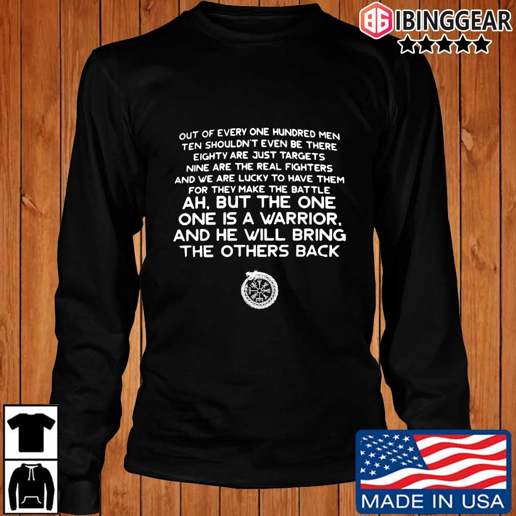 Out of every one hundred men ten shouldn't even be there s Longsleeve Ibinggear den