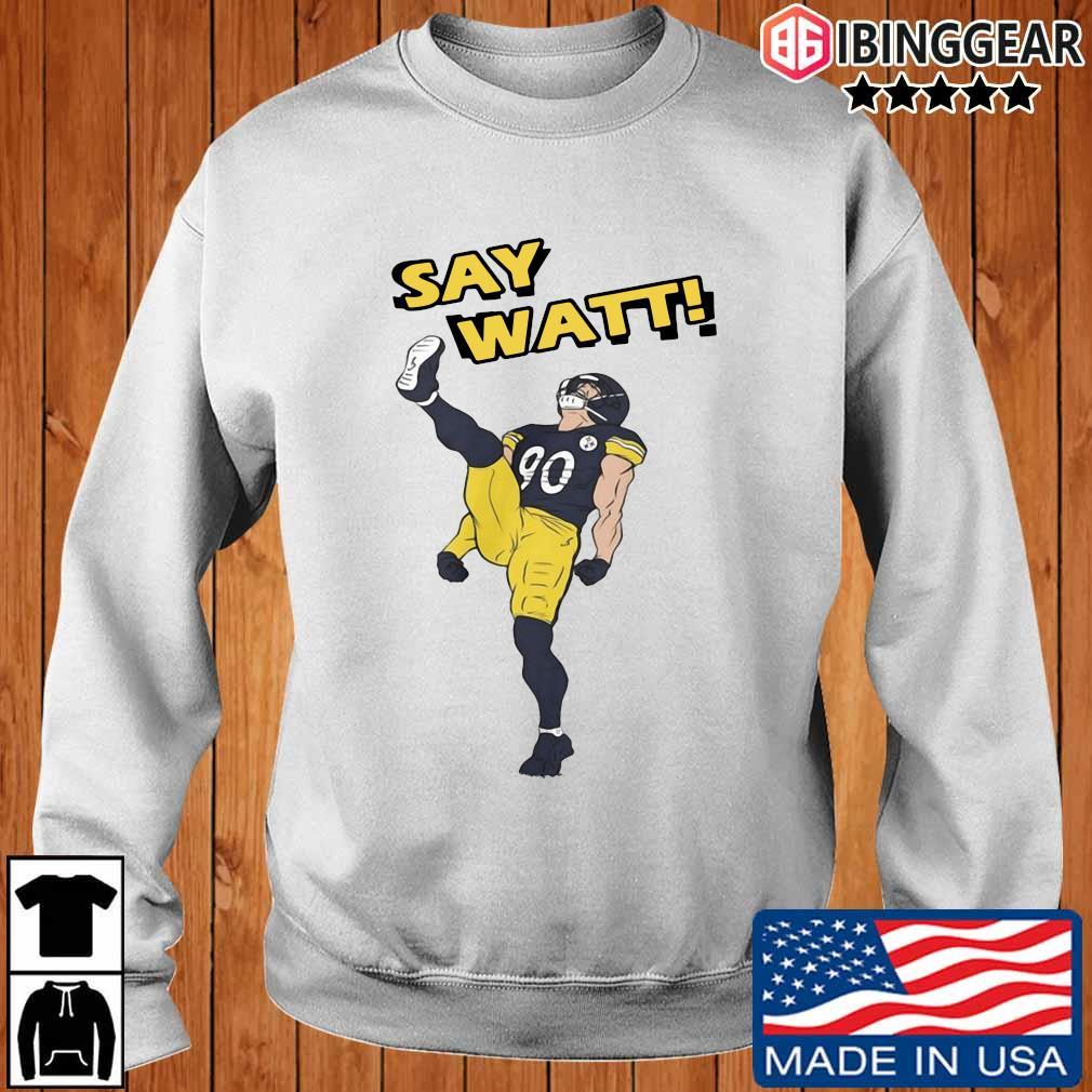 Pittsburgh Steelers Say Watt s Ibinggear sweater trang