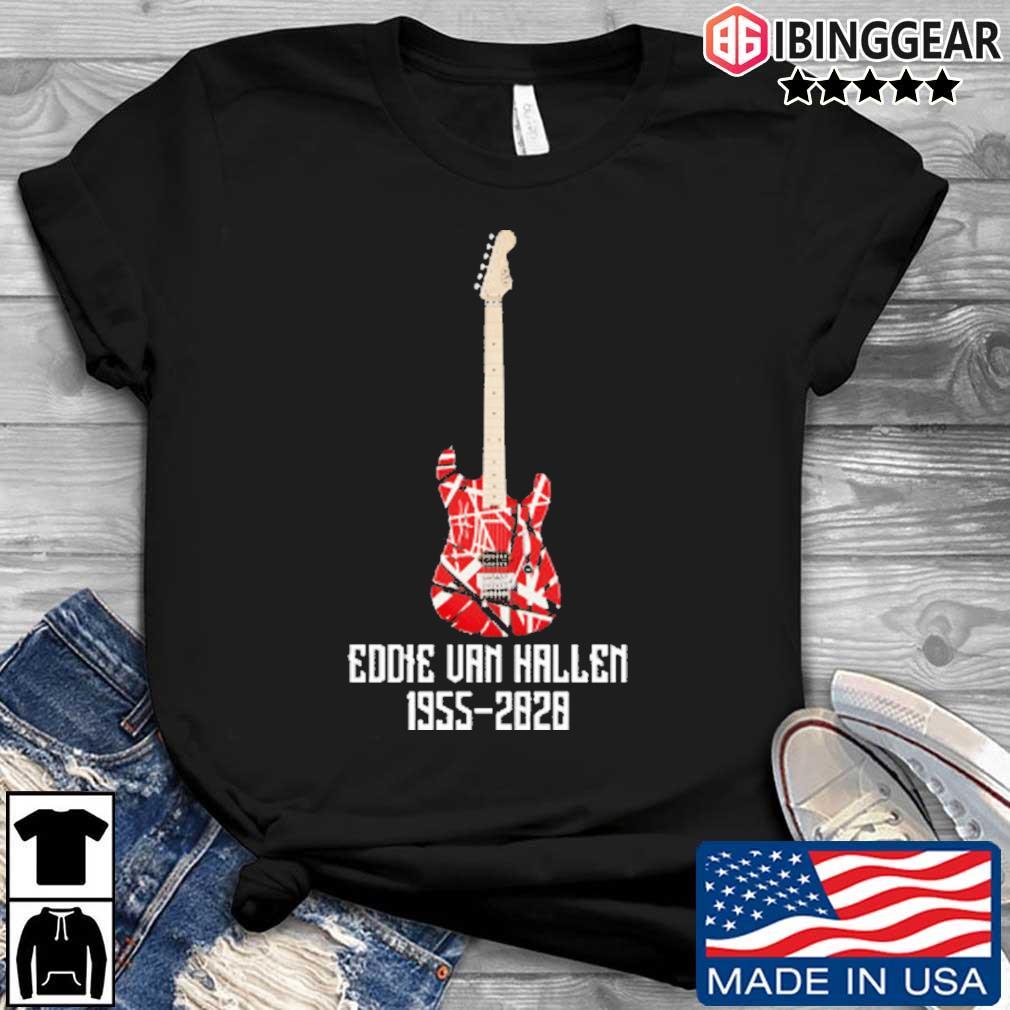 RIP Eddie Van Halen 1955-2020 Legend shirt