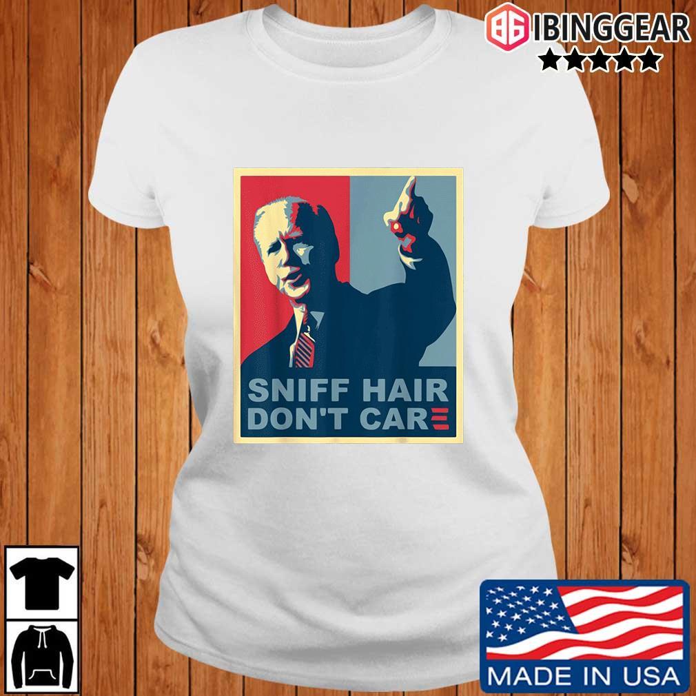 Sniff hair don't care Joe Biden s Ibinggear ladies trang