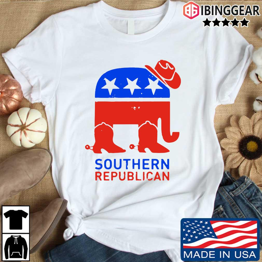 Southern Republican American Flag Shirt