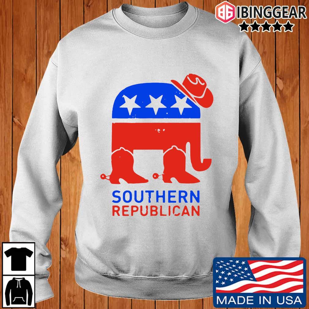 Southern Republican American Flag Shirt Ibinggear sweater trang