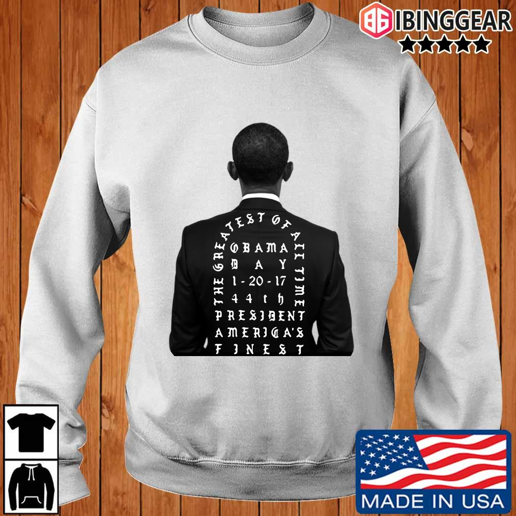 Obama the greatest of all time president America finest T-Shirt