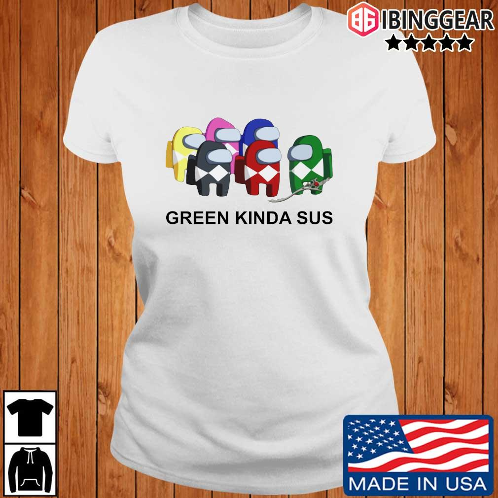 Official Green Kinda SUS Shirt Ibinggear ladies trang