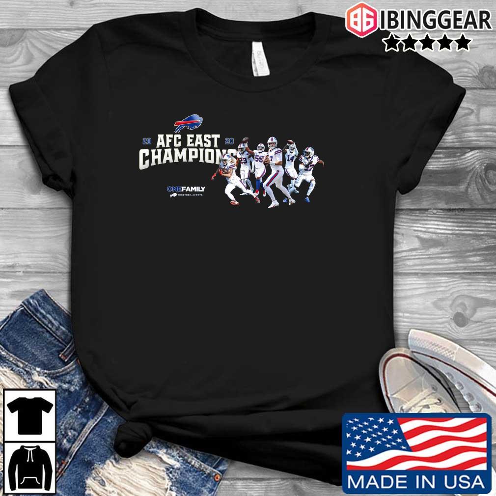 Buffalo Bills 2020 AFC East Champions one family sweats Ibinggear den dai dien
