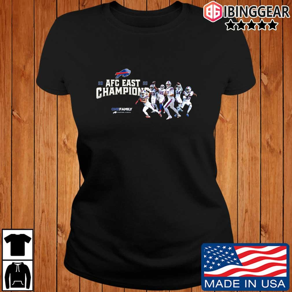 Buffalo Bills 2020 AFC East Champions one family sweats Ibinggear ladies den