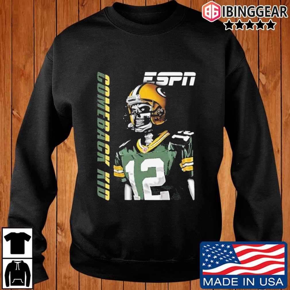 Aaron Rodgers Green Bay Packers Comeback Kid Shirt Ibinggear sweater den
