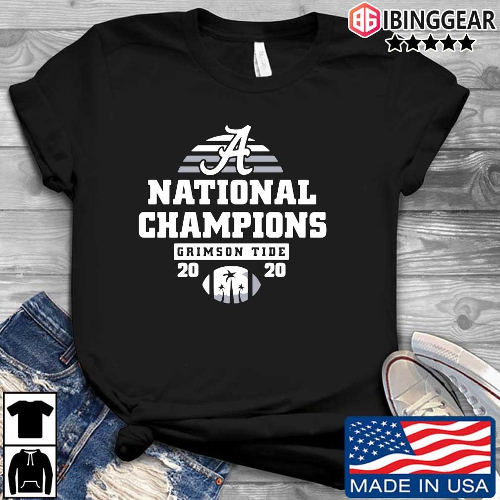 Alabama Crimson Tide national Champions 2020 s Ibinggear den dai dien
