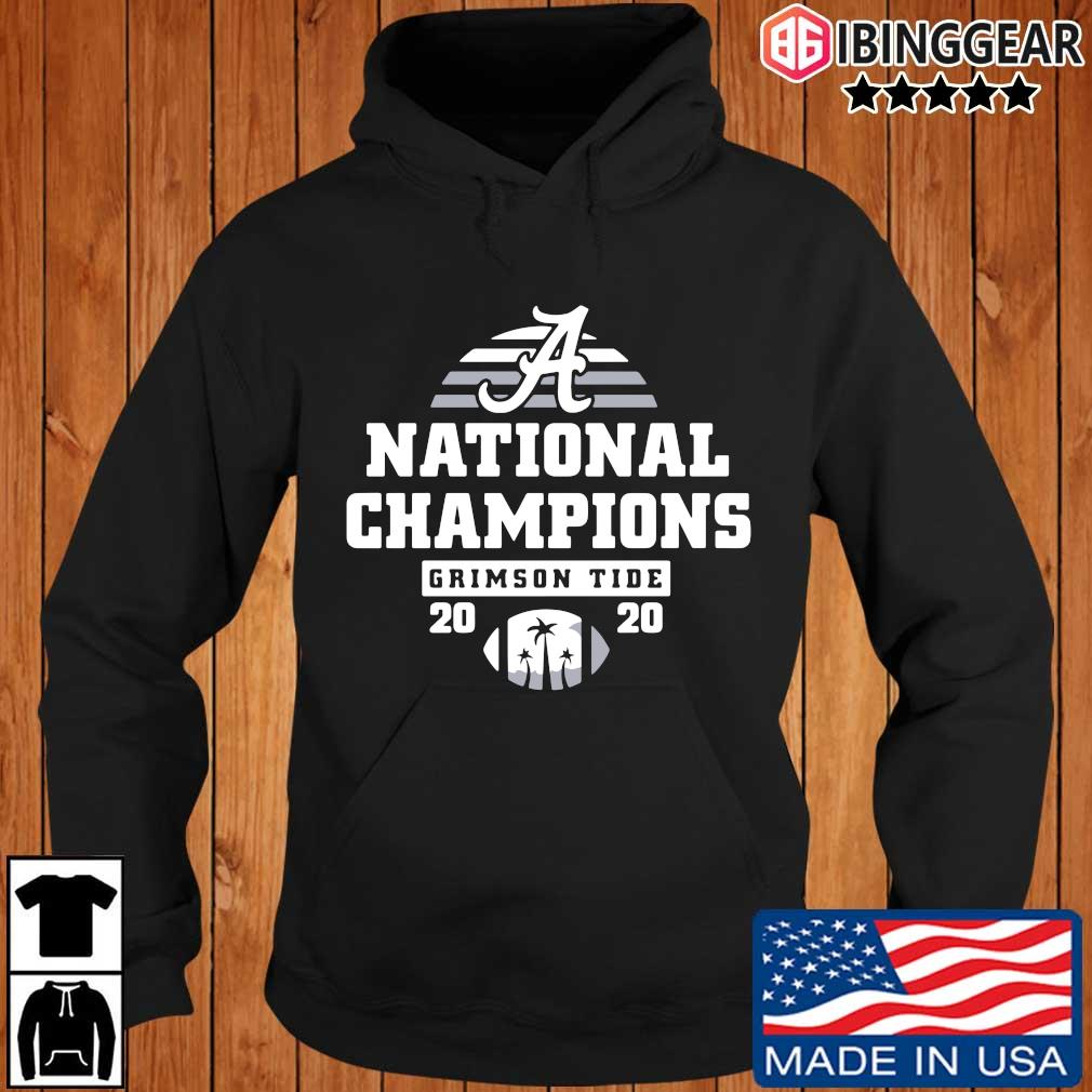 Alabama Crimson Tide national Champions 2020 s Ibinggear hoodie den