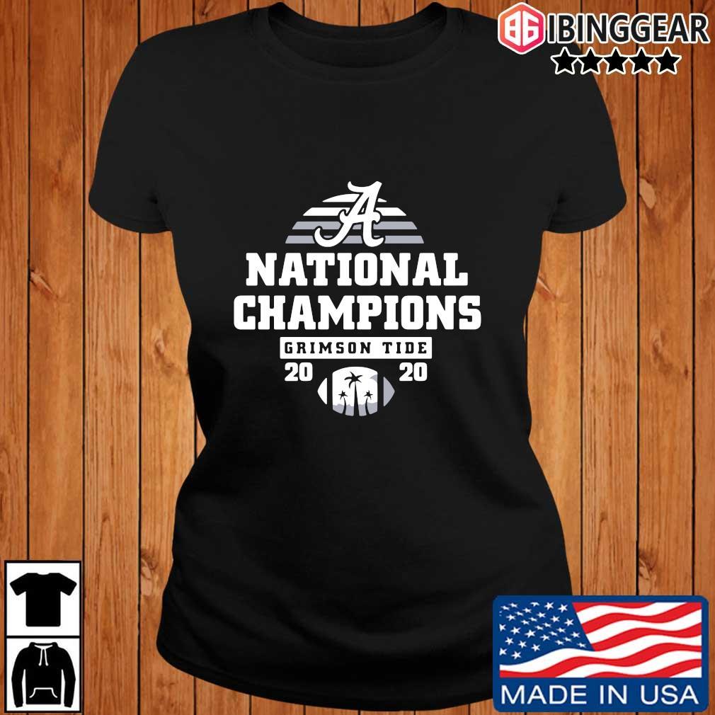 Alabama Crimson Tide national Champions 2020 s Ibinggear ladies den