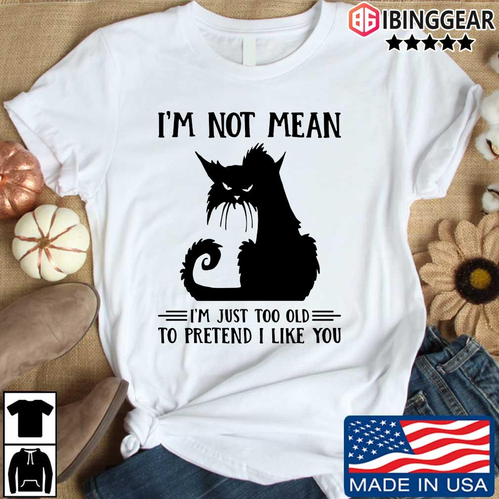 Black cat not mean I'm just too old to pretend I like you s Ibinggear den dai trang