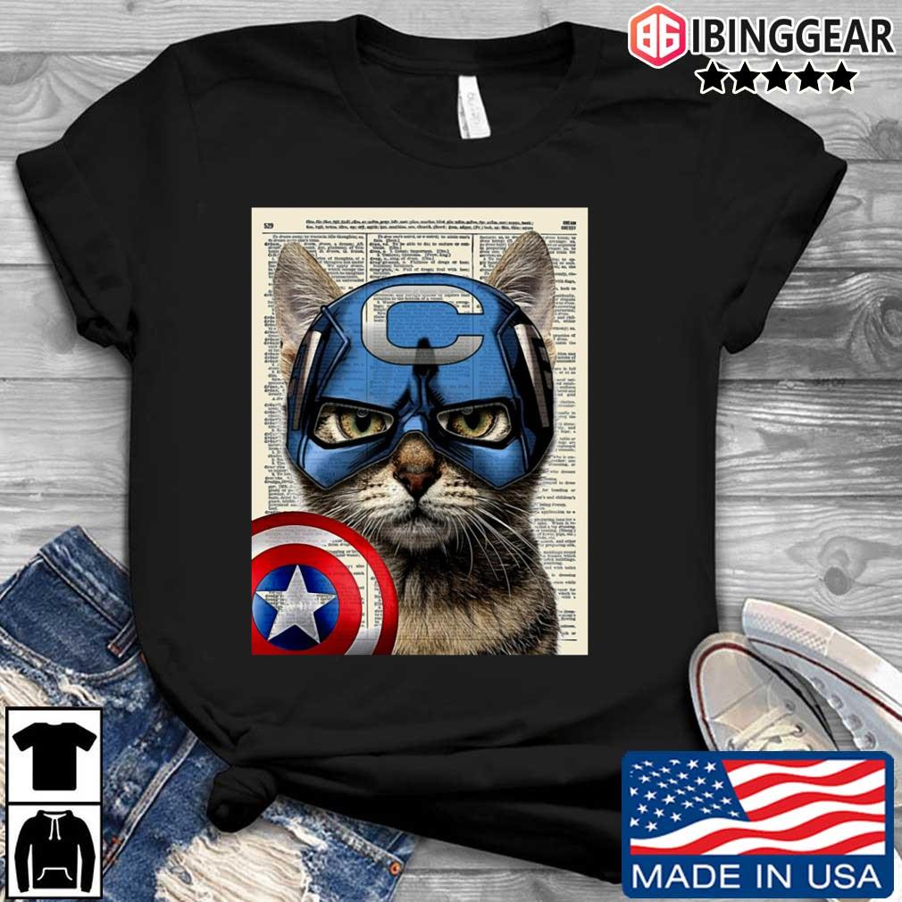 Cat Captain America s Ibinggear den dai dien