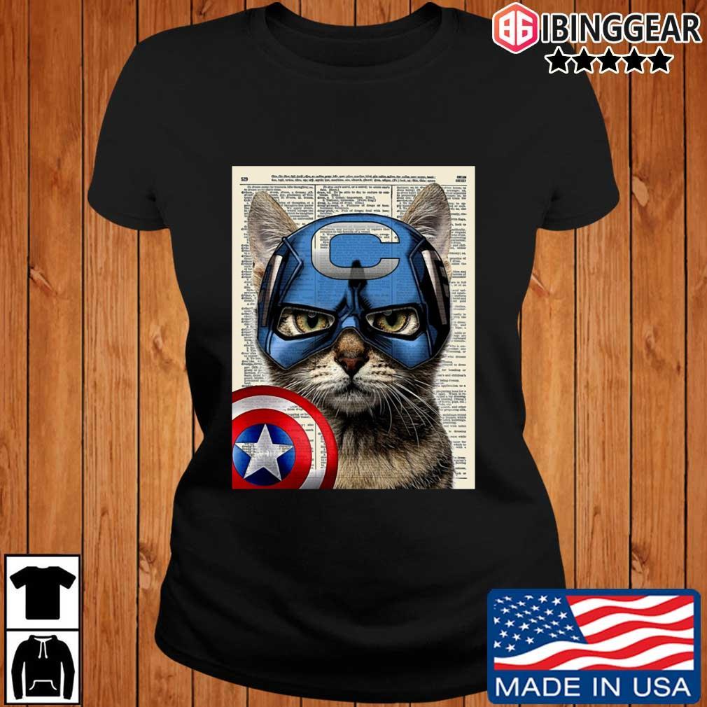 Cat Captain America s Ibinggear ladies den
