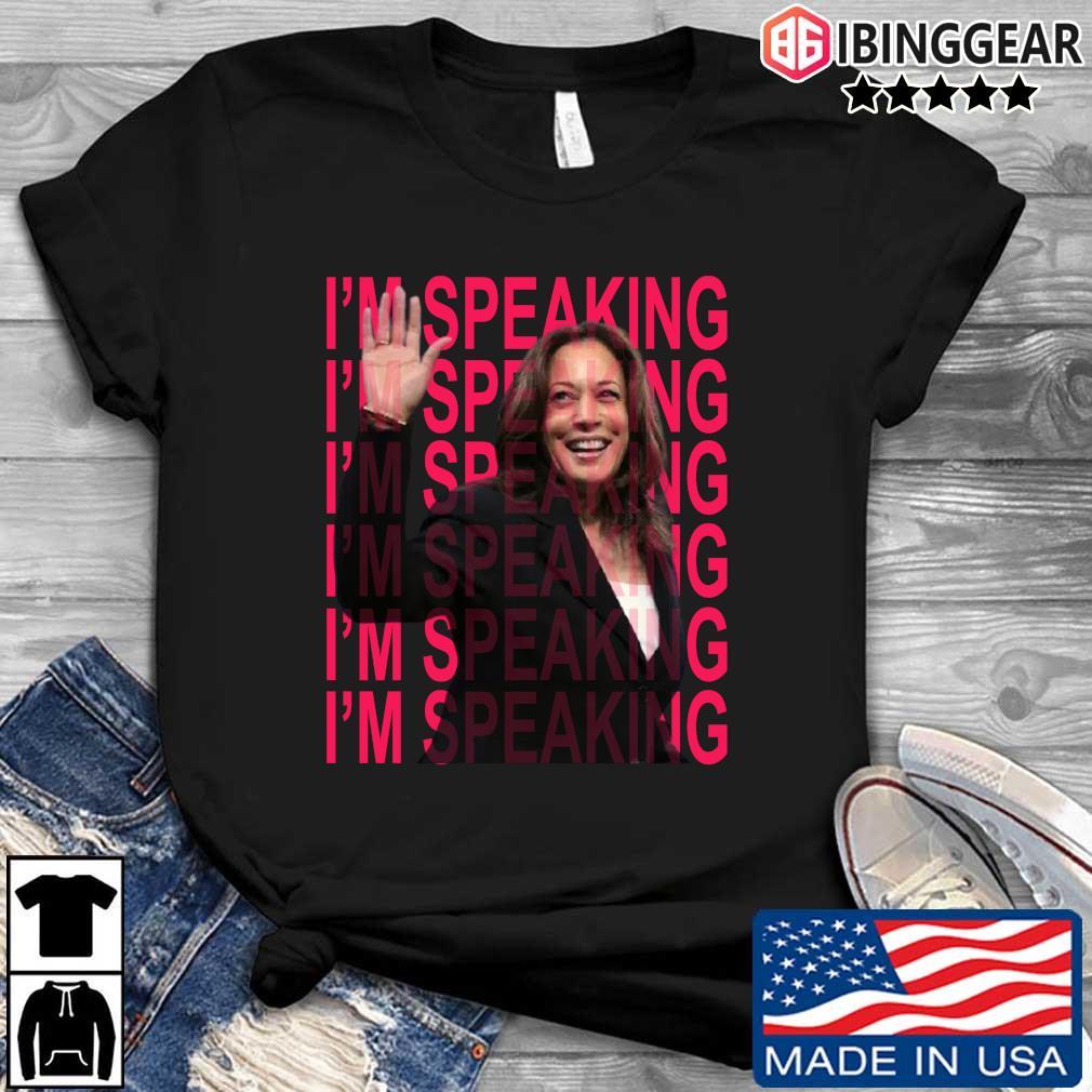 Excuse Me I'm Speaking Kamala Harris Shirt