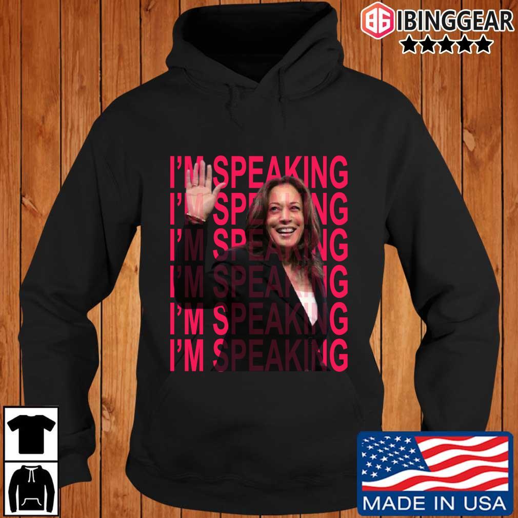 Excuse Me I'm Speaking Kamala Harris Shirt Ibinggear hoodie den