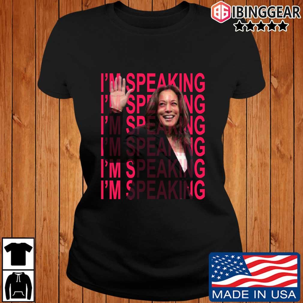 Excuse Me I'm Speaking Kamala Harris Shirt Ibinggear ladies den