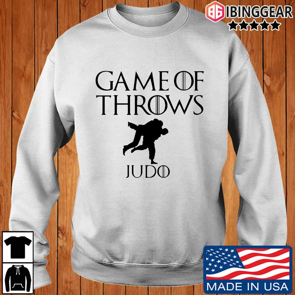 Game of throws judo shirt