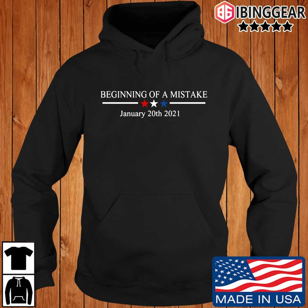 Official Beginning of a nightmare january 20th 2021 t-s Ibinggear hoodie den