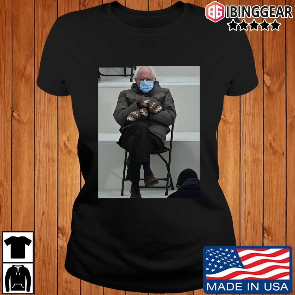 Official Bernie Sanders Face Mask Shirt Ibinggear ladies den