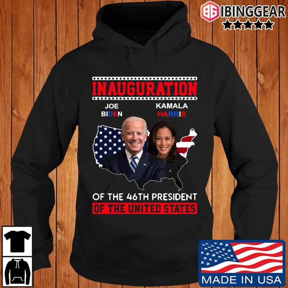 Official inauguration Joe Biden Kamala Harris of the 46th President of the united states s Ibinggear hoodie den