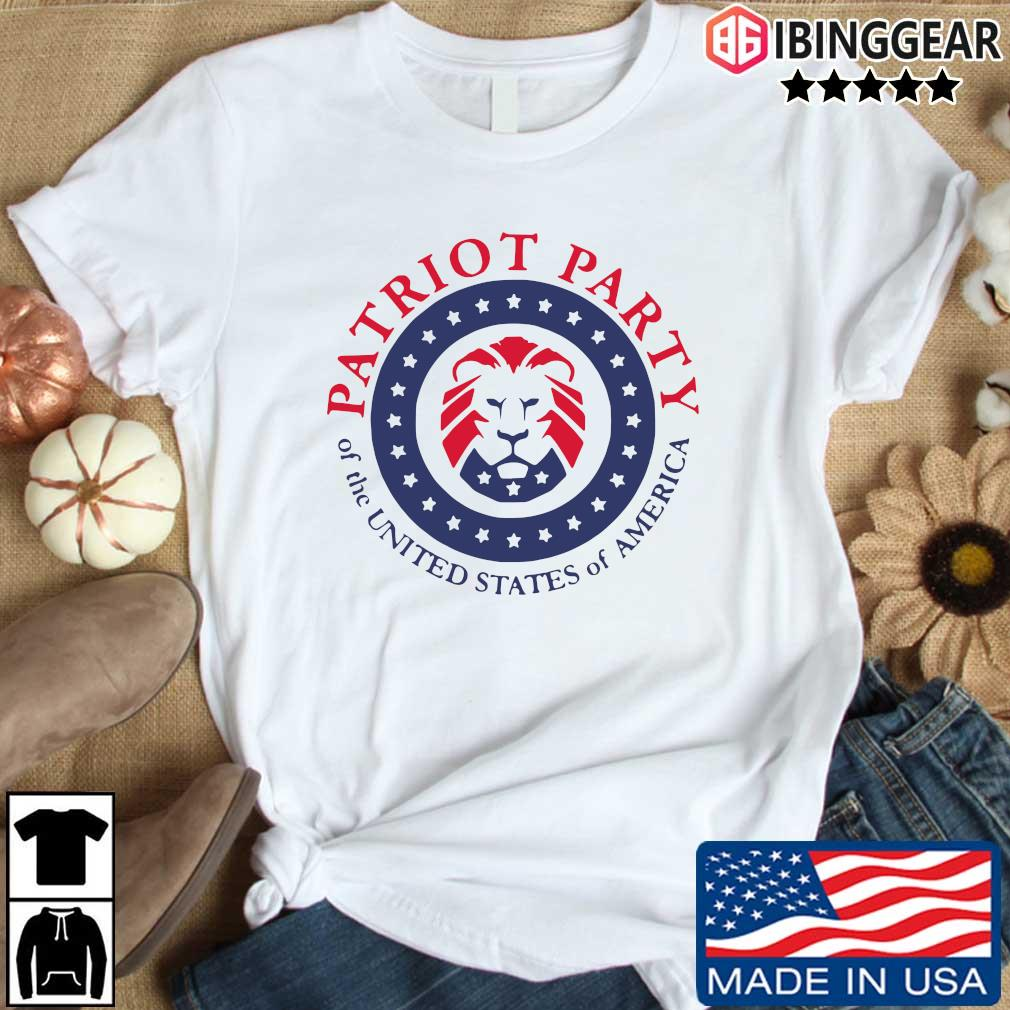 Official patriot party of the united states of America T-shirt