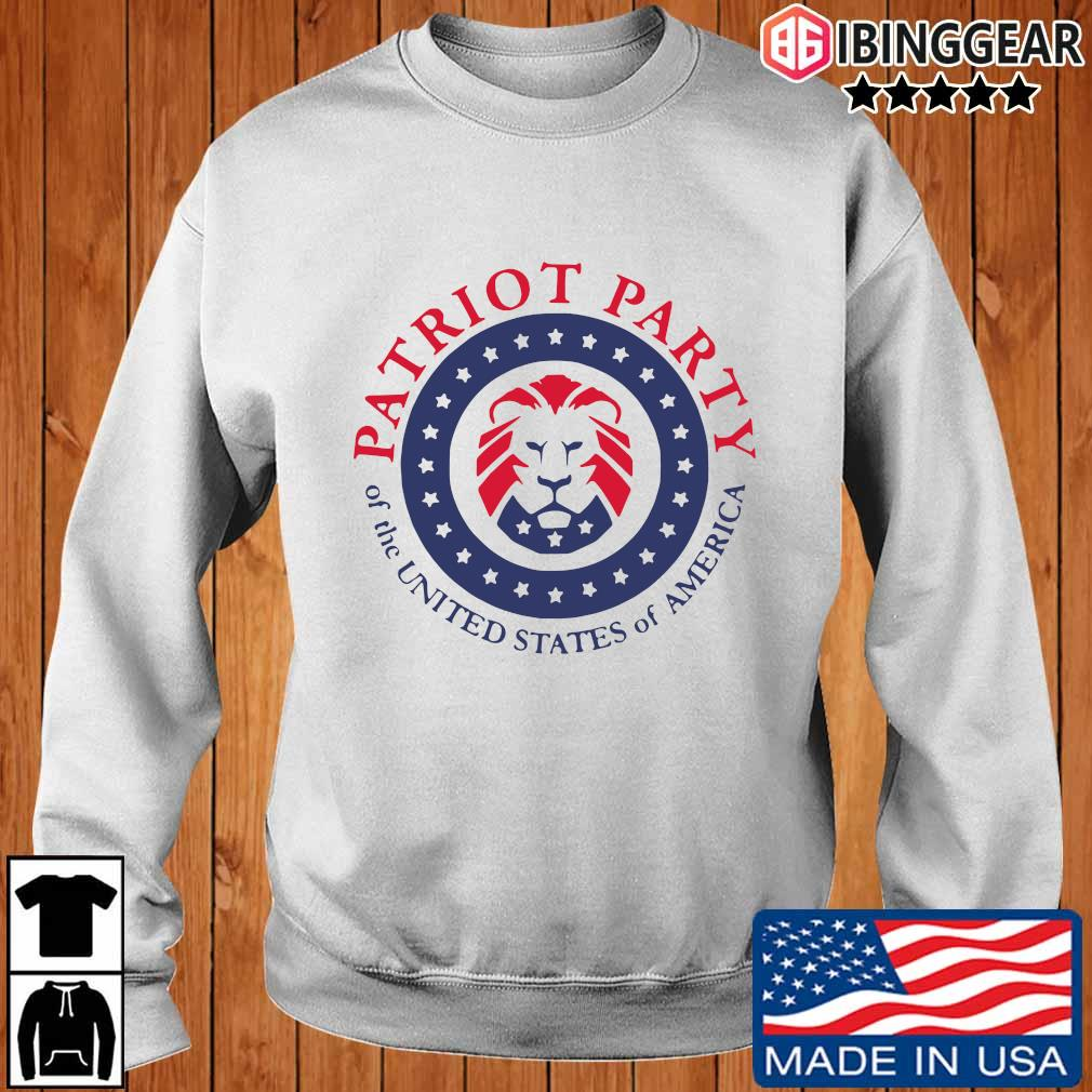 Official patriot party of the united states of America T-s Ibinggear sweater trang