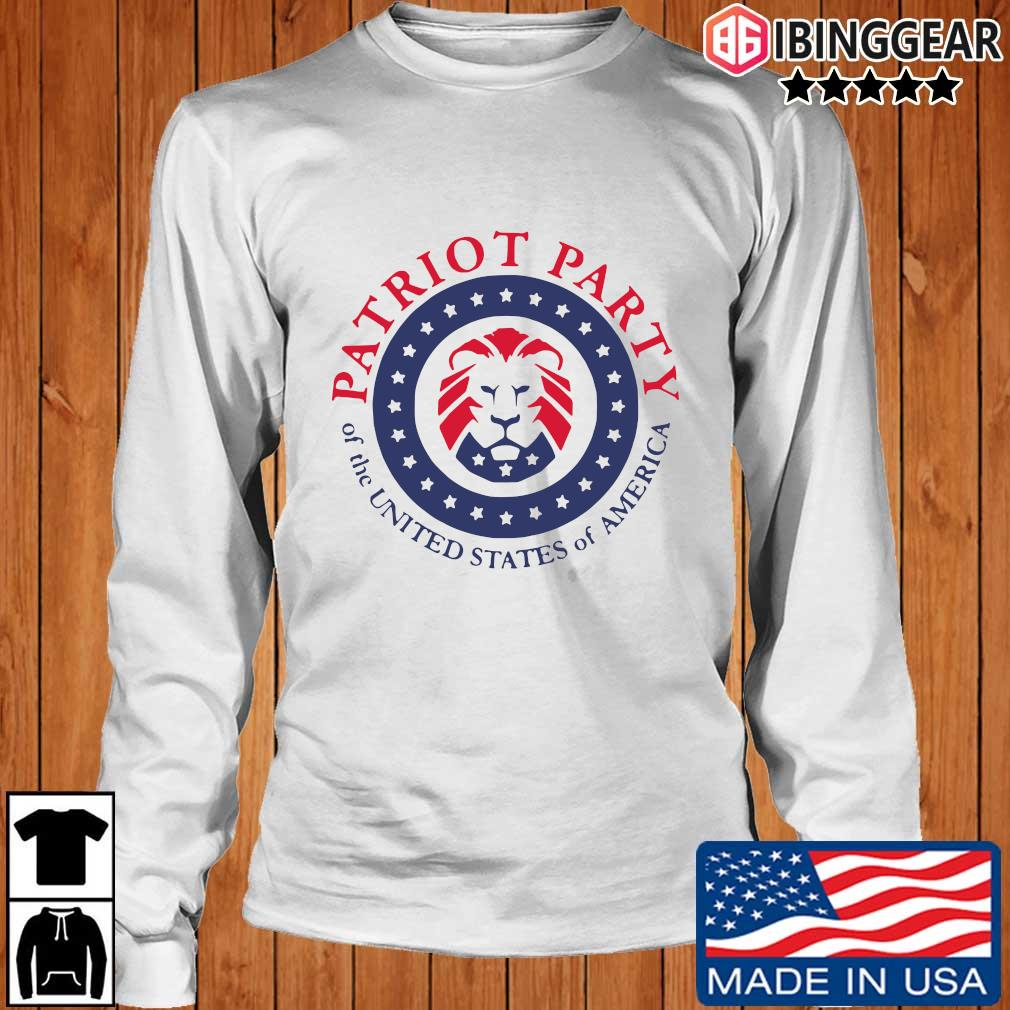 Official patriot party of the united states of America T-s Longsleeve Ibinggear trang