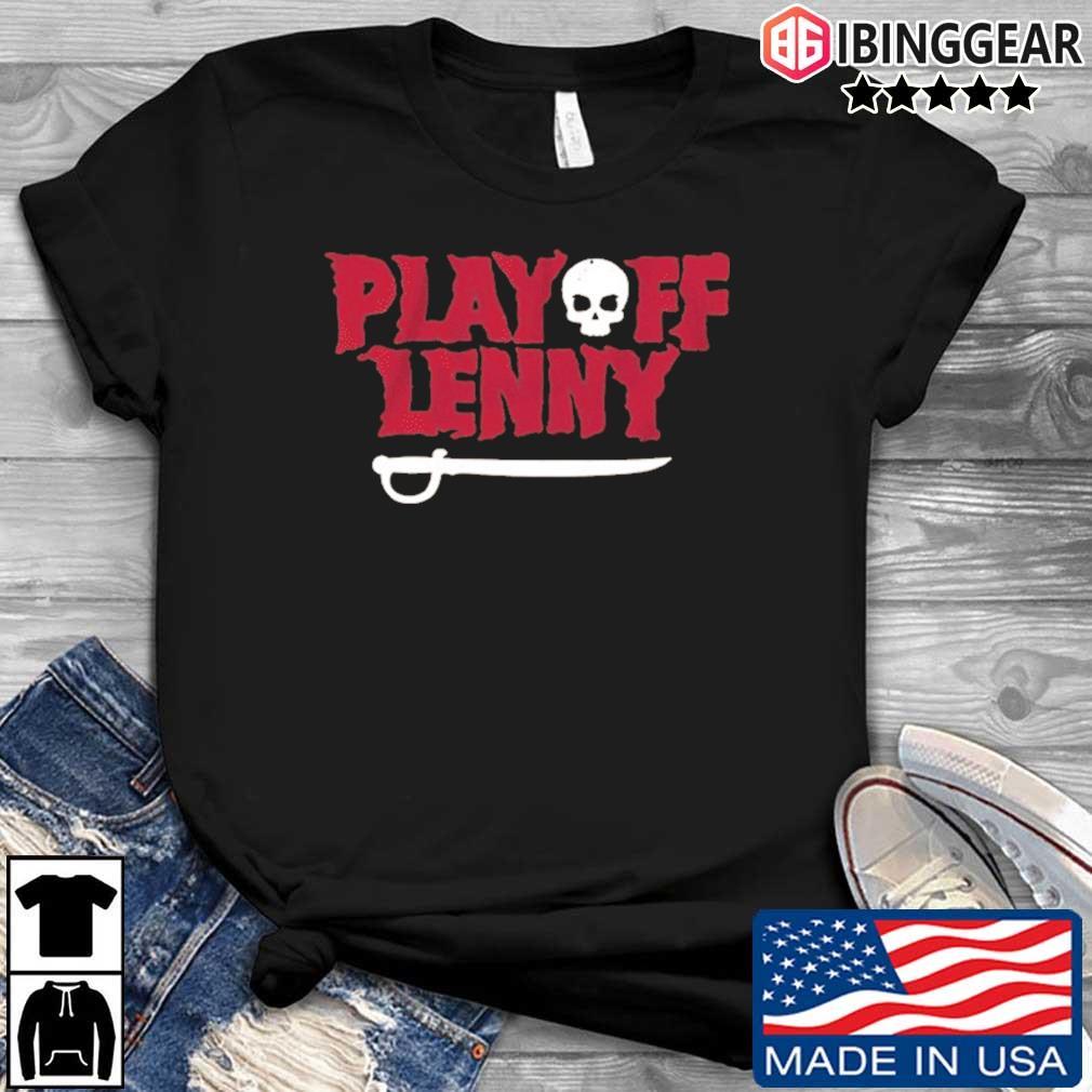 Playoff Lenny Tampa Bay Football Skull Shirt