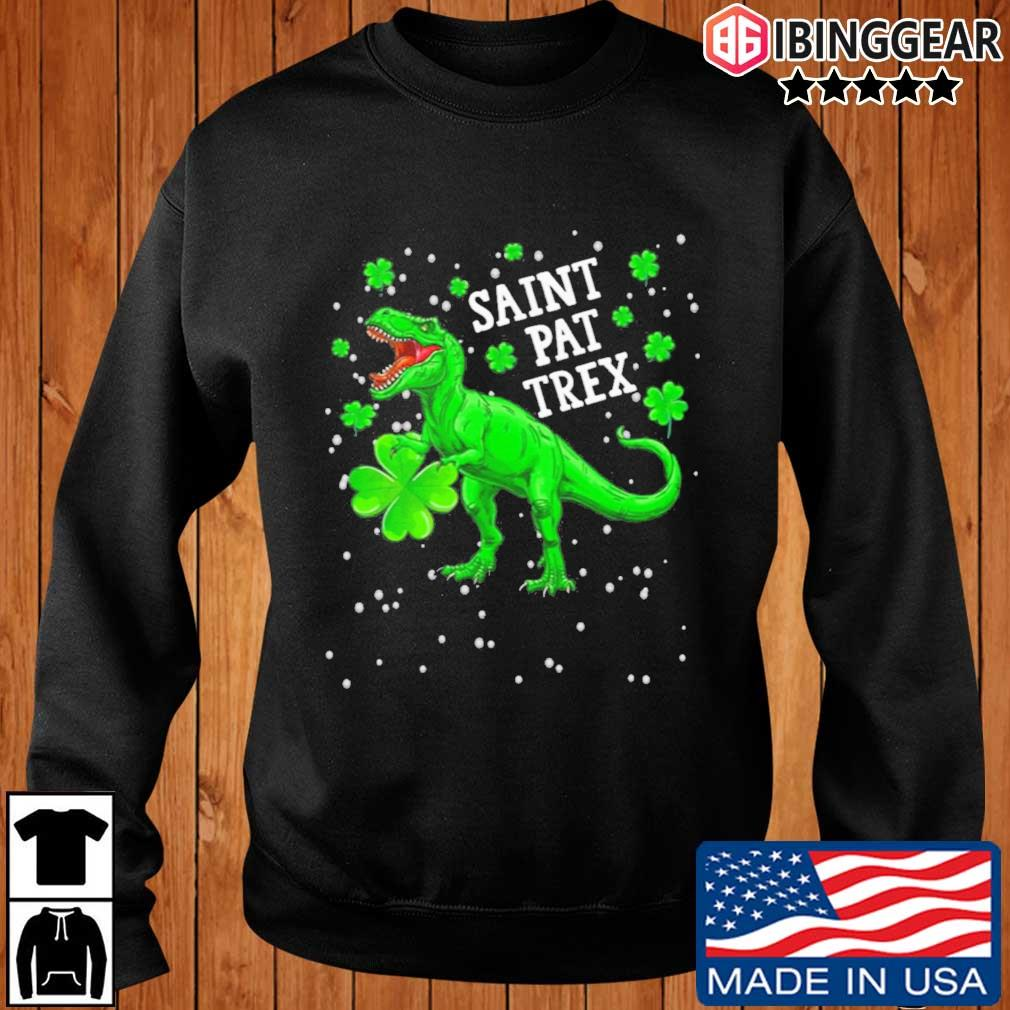 Saint Pat Trex Irish Gaelic Shirt Ibinggear sweater den