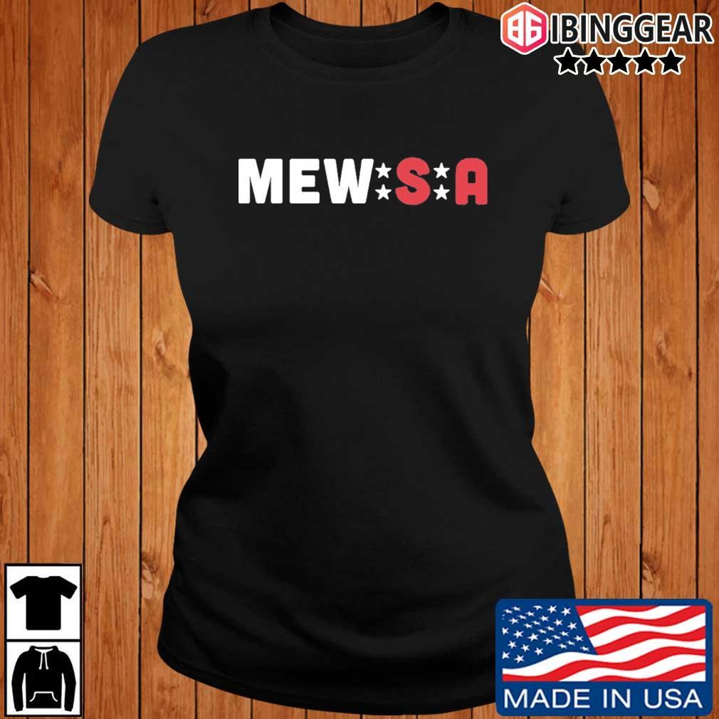 Sam And Kristie Mewis Mew-S-A Shirt Ibinggear ladies den