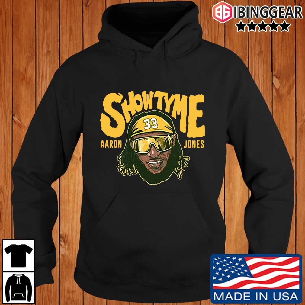 Showtyme Green Bay Packers Aaron Jones 33 shirt, sweater Ibinggear hoodie den