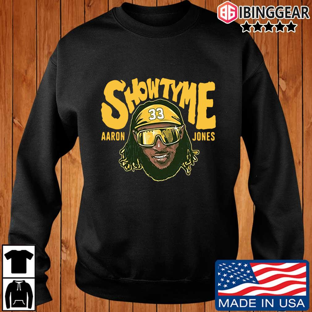 Showtyme Green Bay Packers Aaron Jones 33 shirt, sweater Ibinggear sweater den