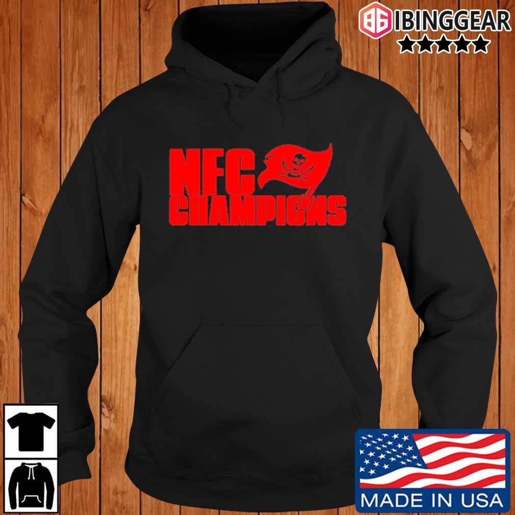 Tampa Bay Buccaneers NFC Champions Shirt Ibinggear hoodie den