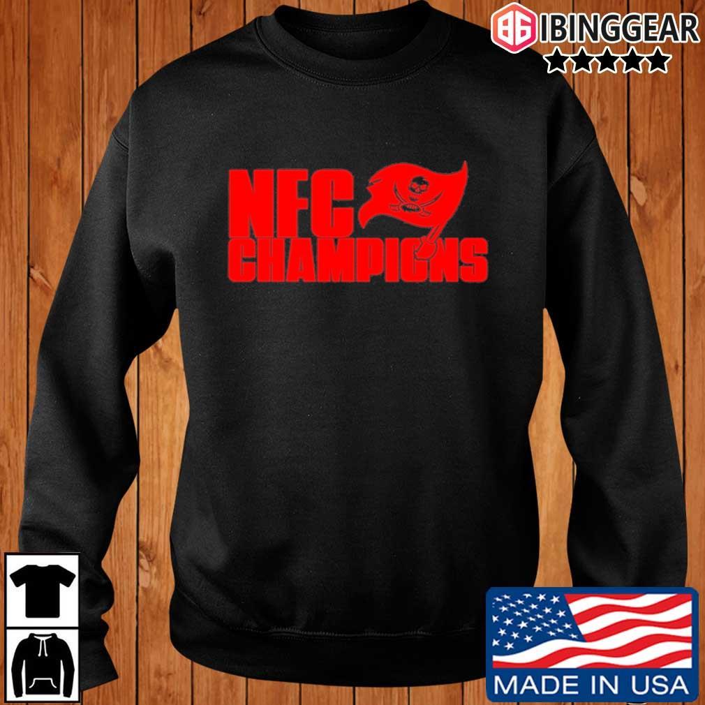 Tampa Bay Buccaneers NFC Champions Shirt Ibinggear sweater den