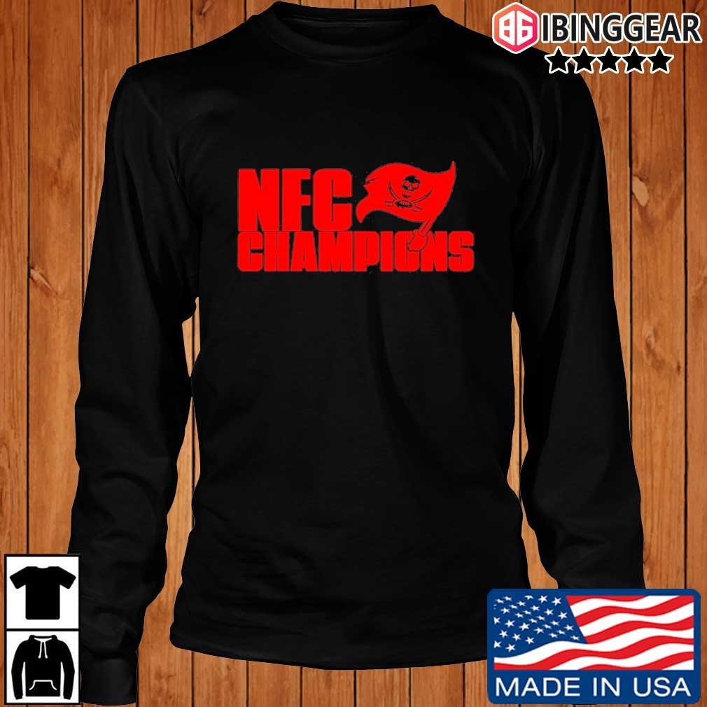 Tampa Bay Buccaneers NFC Champions Shirt Longsleeve Ibinggear den