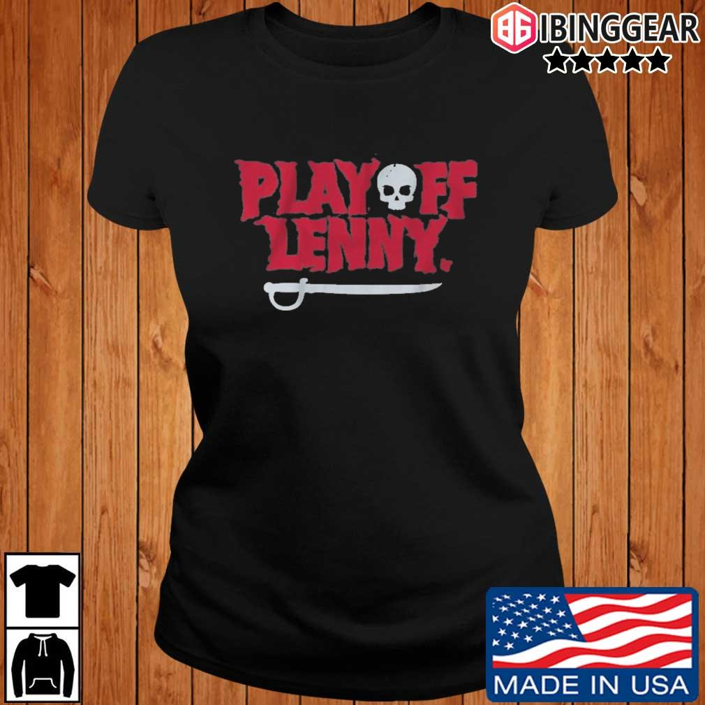 Tampa Bay Football Playoff Lenny Shirt Ibinggear ladies den