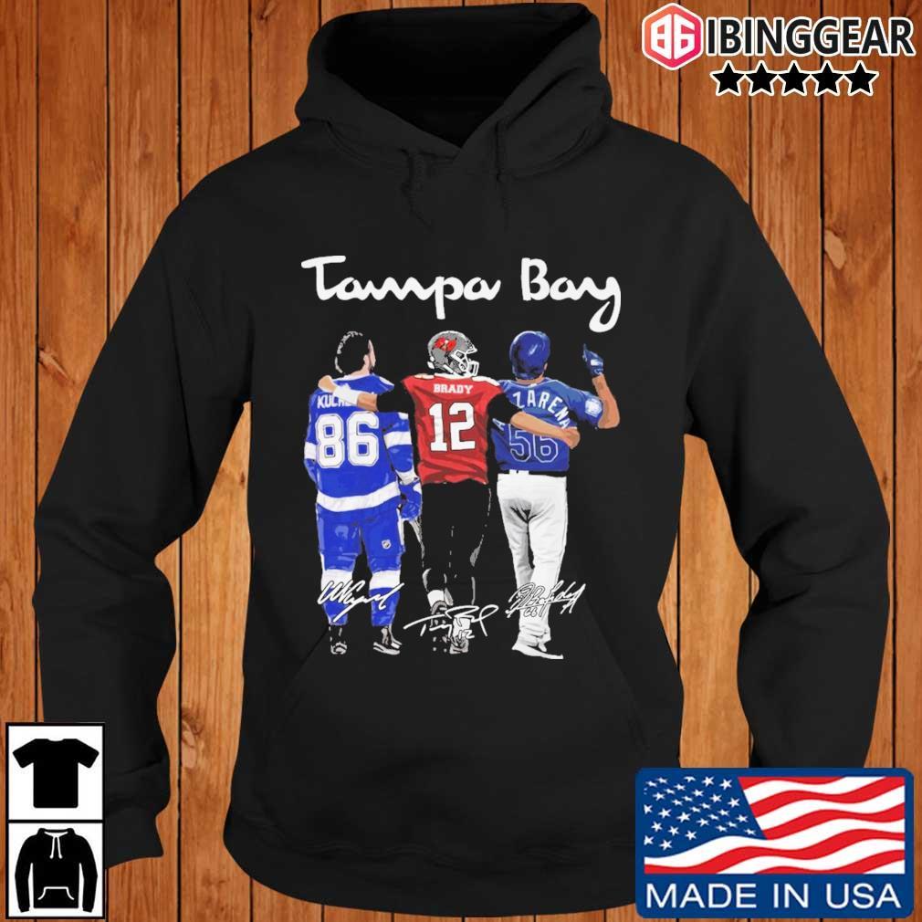 Tampa Bay Nikita Kucherov Brady Randy Arozarena signatures s Ibinggear hoodie den