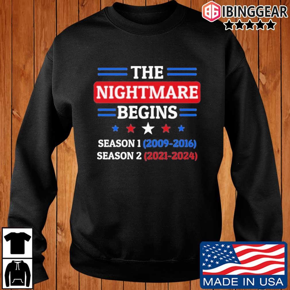 The Nightmare Begins January 20th 2021 T-Shirt Ibinggear sweater den