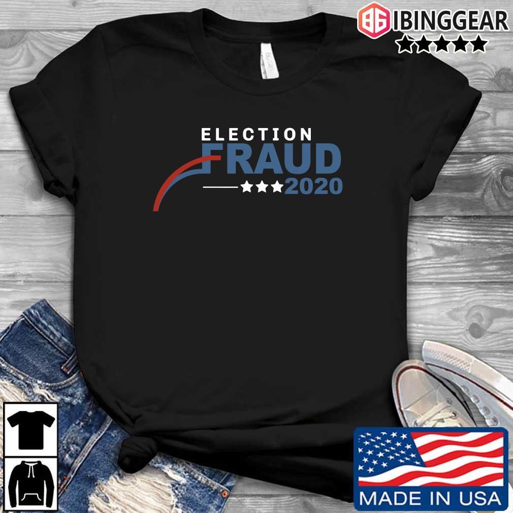 Trump Biden Election Results Voter Fraud T-Shirt